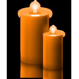 candela_arancione
