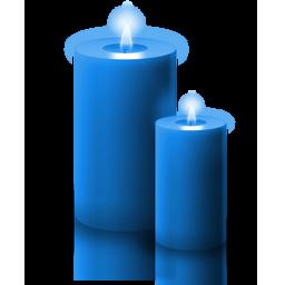 candela_blu