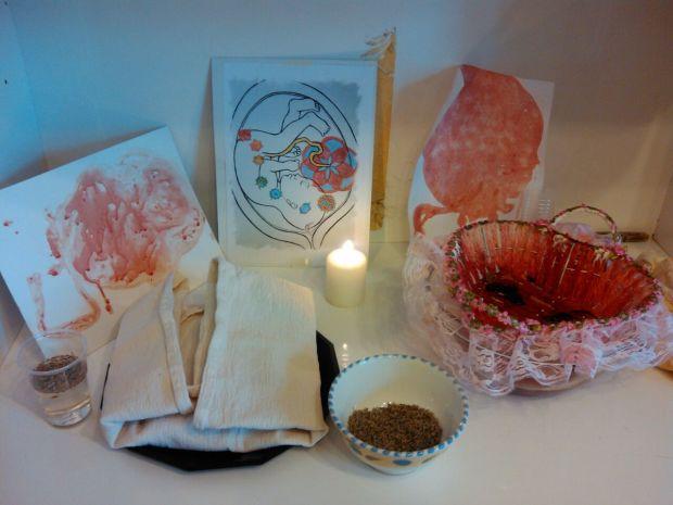 Altare in cui riposa la Placenta