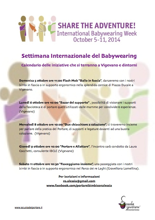 Settimana Internazionale del Babywearing 2014