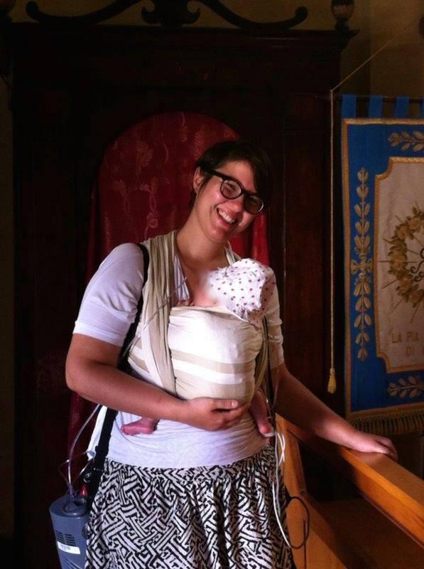 Portare un bambino pretermine, la storia di mamma Alice e della sua Olivia Anna Andrea