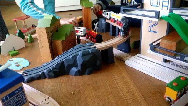 pista dei treni