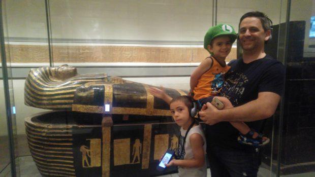 Sarcofago esterno Kha