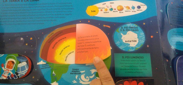 Sistema solare per bambini: palline di Natale, un video, un libro e un telescopio