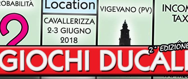Giochi Ducali, il potenziale del gioco da tavolo a Vigevano